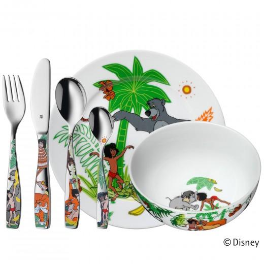 Set pentru copii Jungle Book, 6 piese