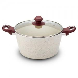 Oala ceramica cu capac, Eco Friendly Terrestrial, Ø 24 cm
