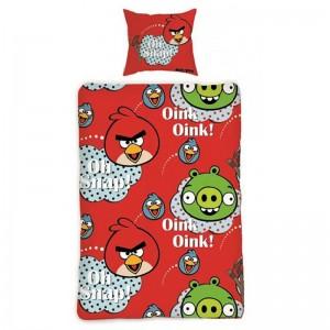 Lenjerie de pat copii Cotton Angry Birds 130