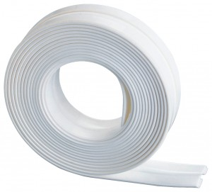 Banda adeziva etansare pentru baie, din plastic, Sealing Tape Alb, L3,5 M