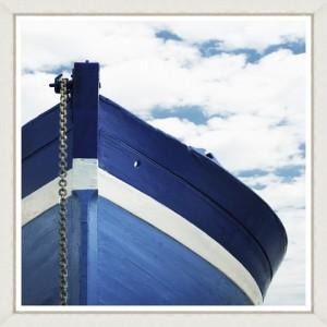 Tablou Framed Art Blue Boat