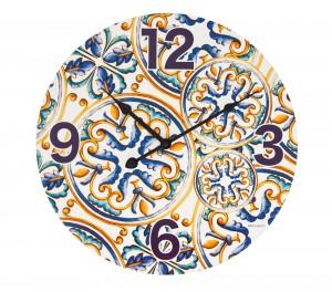 Ceas de perete Medicea Multicolor, Ø40 cm