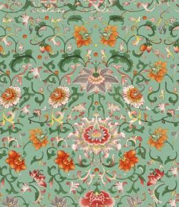Set 3 role Tapet Imprimat Digital Chinese Floral