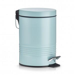 Cos de gunoi cu pedala pentru baie, Mint, 3L