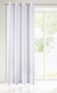 Draperie Brandi Alb, 140 x 250 cm, 1 bucata