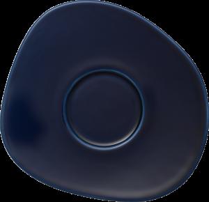 Farfurioara ceasca cafea din portelan, Organic Bleumarin, 17,5 cm, Villeroy & Boch