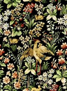 Set 3 role Tapet Imprimat Digital Floral Tapestry