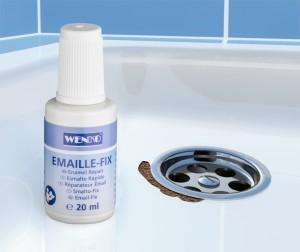 Lac corector pentru suprafete smaltuite, Repair Agent Alb, 20 ml