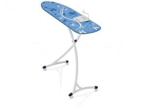 Masa de calcat cu cadru metalic, Air Board XL Ergo Albastru, L140xl38xH75-99 cm