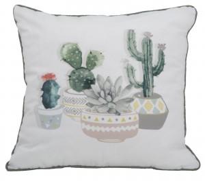 Perna decorativa Cactus B Multicolor, L45xl45 cm