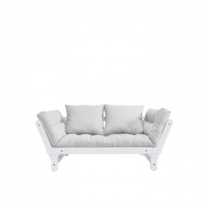 Canapea extensibila Beat White-Bej