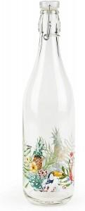 Sticla cu inchidere ermetica, 1L, Ø8xH31 cm, Tropical