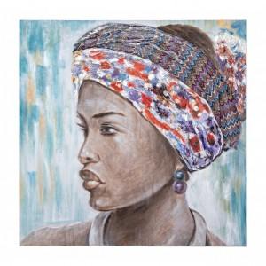 Tablou Canvas Village GBR133, 100 x 100 cm