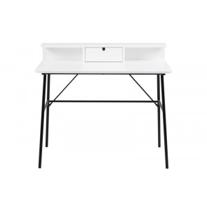 Masa de birou Pascal White, L100xl55xh88 cm