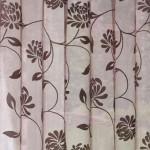 Perdea Blossom 140X250 Caramiziu/Argintiu 1 buc 2