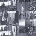 Perdea New York 140X250 Gri Închis/Galben 1 buc 2