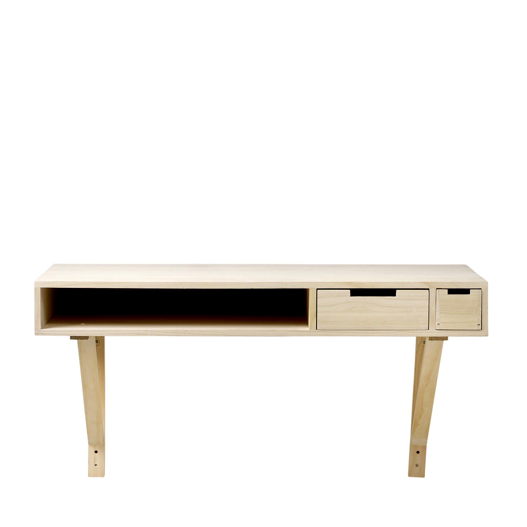 Masa de birou Harold Nature, L100xl50xh58,5 cm
