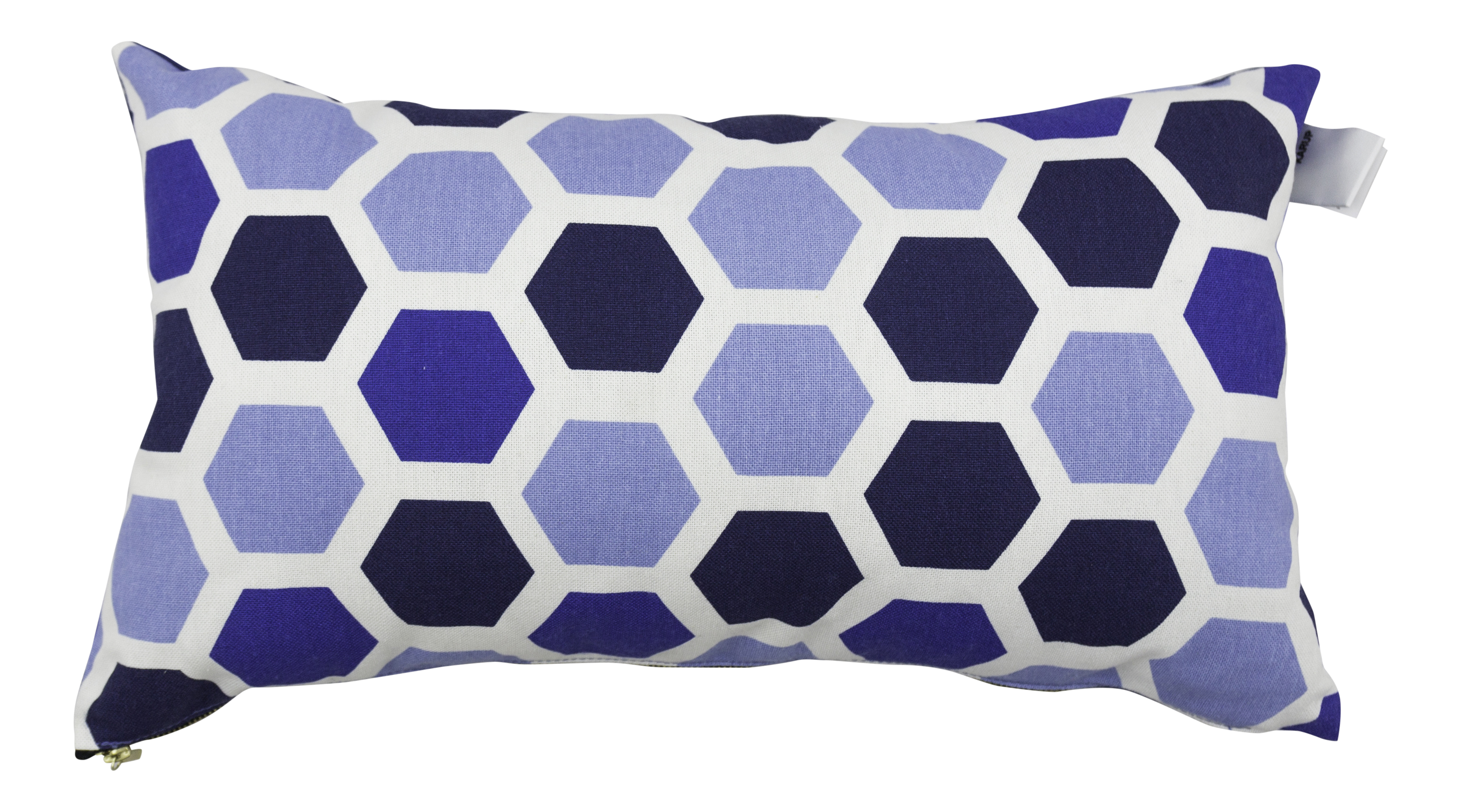 Set 2 perne decorative Deco Ocean Geometry / Navy