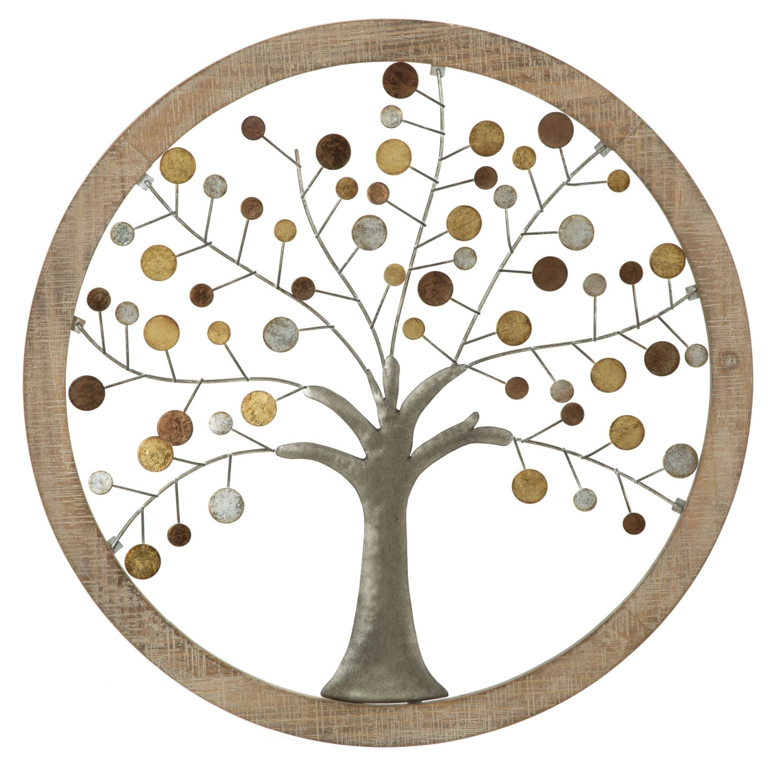 Decoratiune de perete Life Tree I O 59 cm