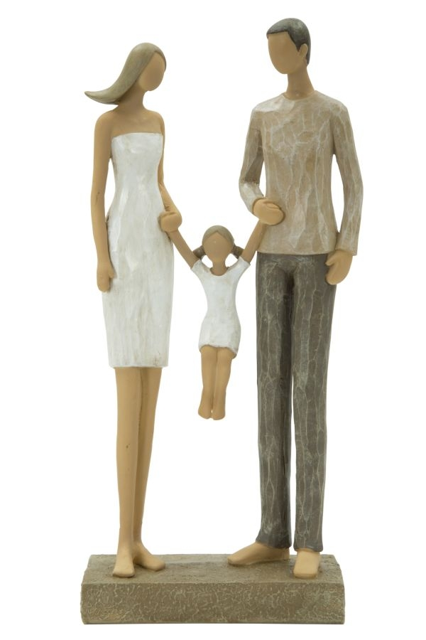 Decoratiune Family and daughter L125xl6xH26 cm