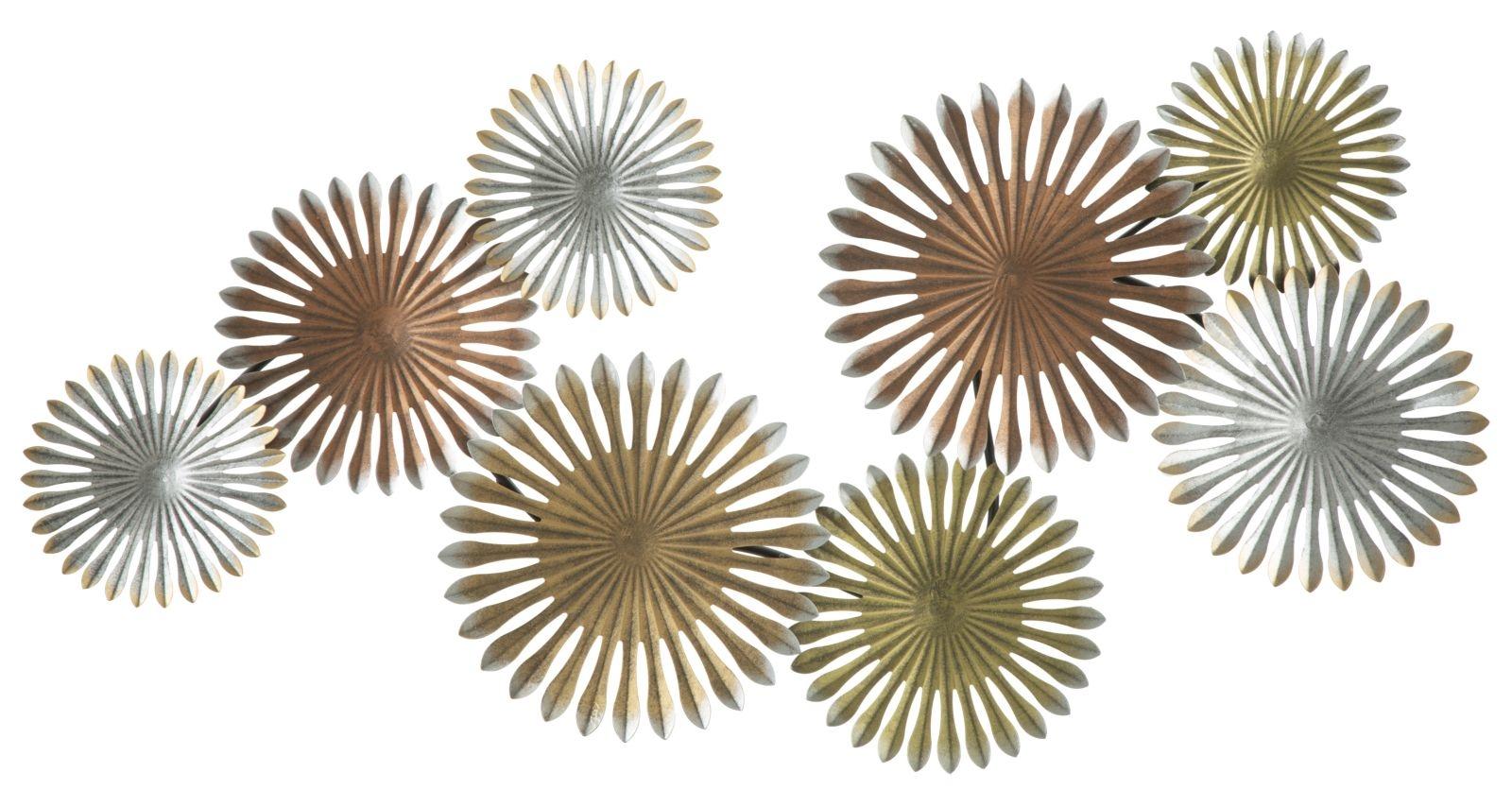 Decoratiune metalica de perete Oxy-A L1105xl5xH53 cm