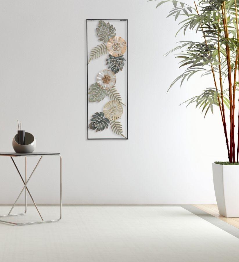 Decoratiune metalica de perete Too B Multicolor, l30,5xA3,7xH88,5 cm