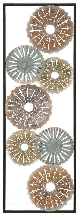 Decoratiune metalica de perete Tud-A L31xl18xH90 cm
