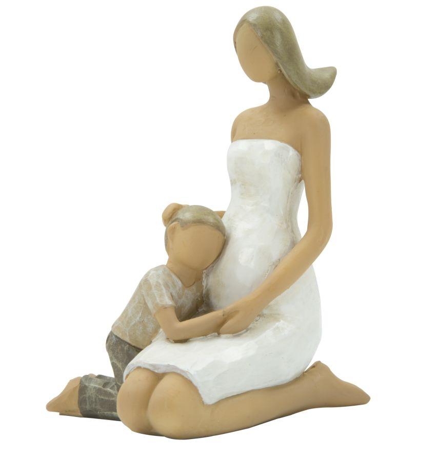 Decoratiune Woman and son L8xl7xH115 cm