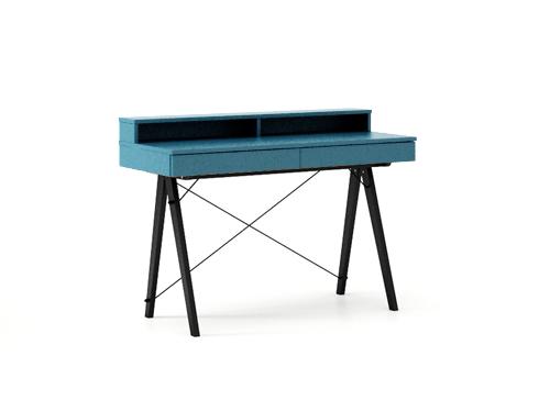 Masa de birou Basic Black Oceanic, L100xl50xh85 cm