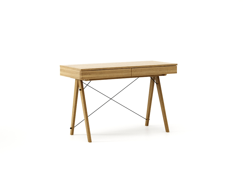 Masa De Birou Desk Basic Oak, L100xl50xh75 Cm