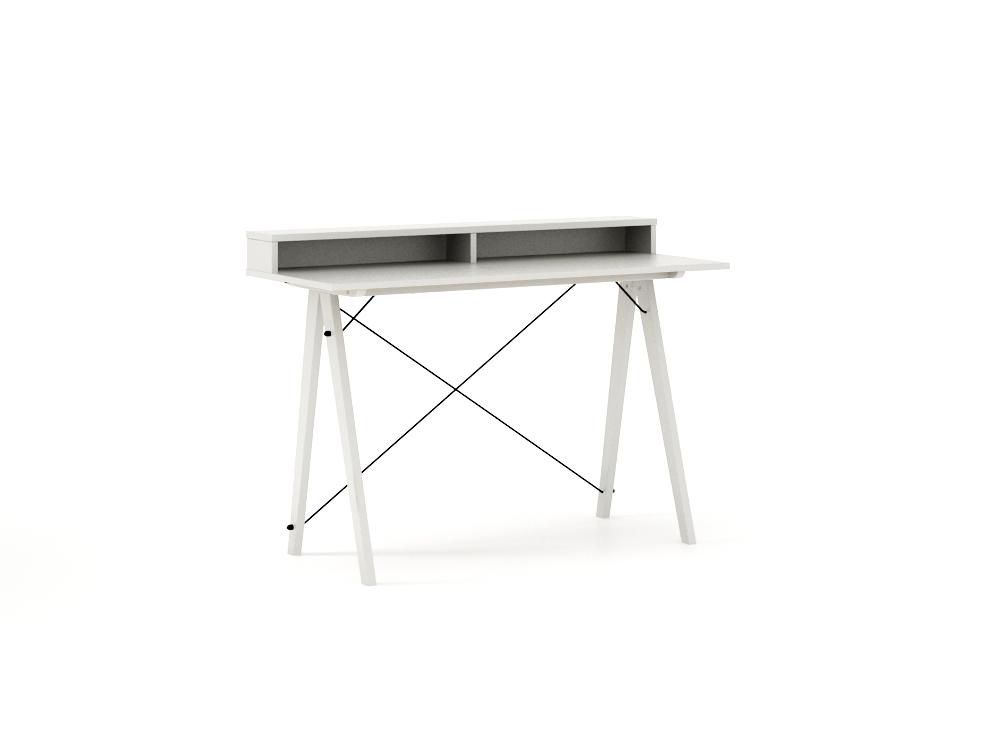 Masa de birou Desk Slim White II, L120xl50xh85 cm