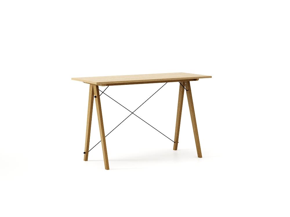 Masa de birou Desk Slim Oak, L120xl50xh75 cm