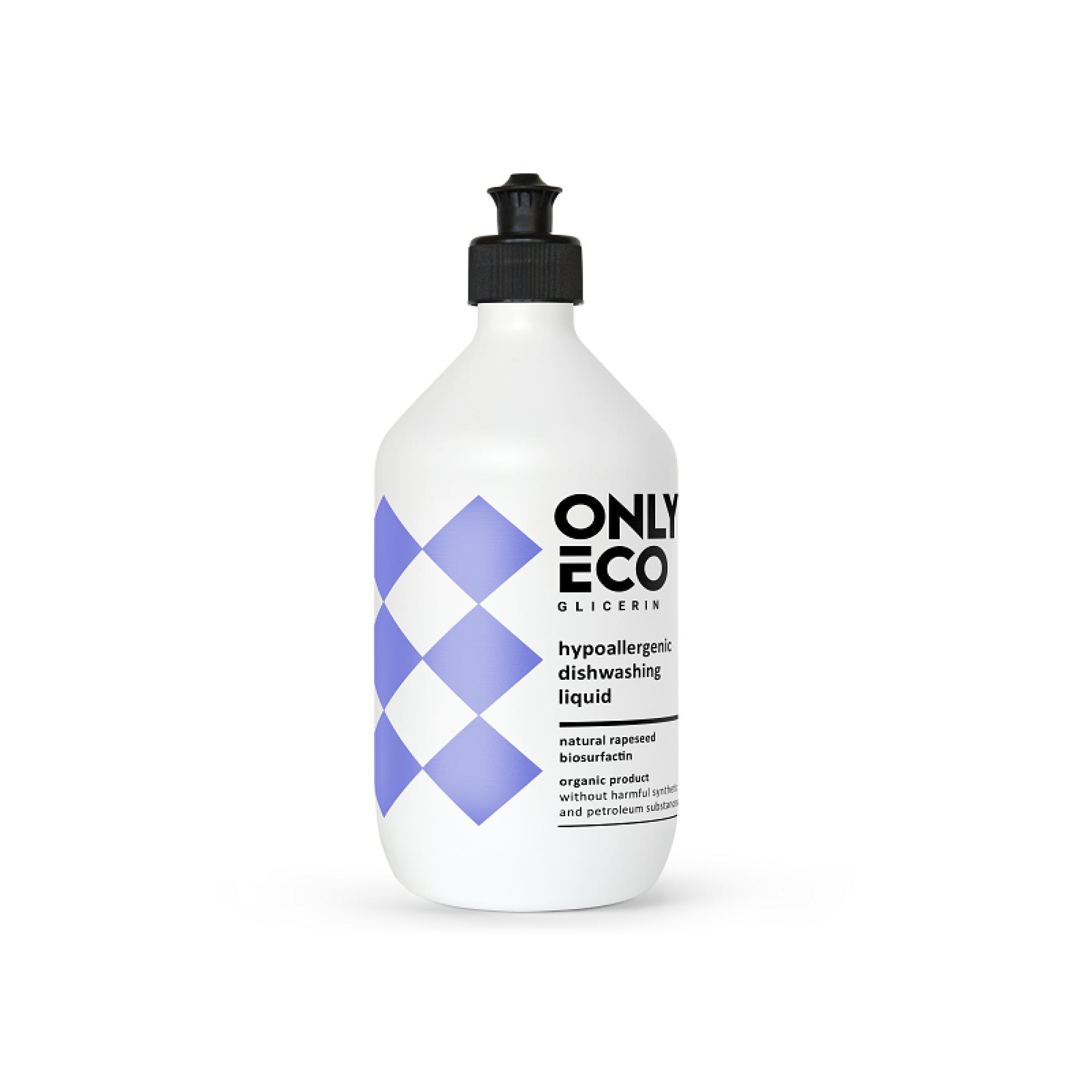 Detergent ecologic hipoalergenic de spalat vase, ingrediente naturale, 500 ml, Only Eco imagine
