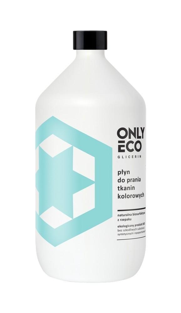 Detergent lichid pentru haine colorate, ingrediente naturale, 1000 ml, Only Eco