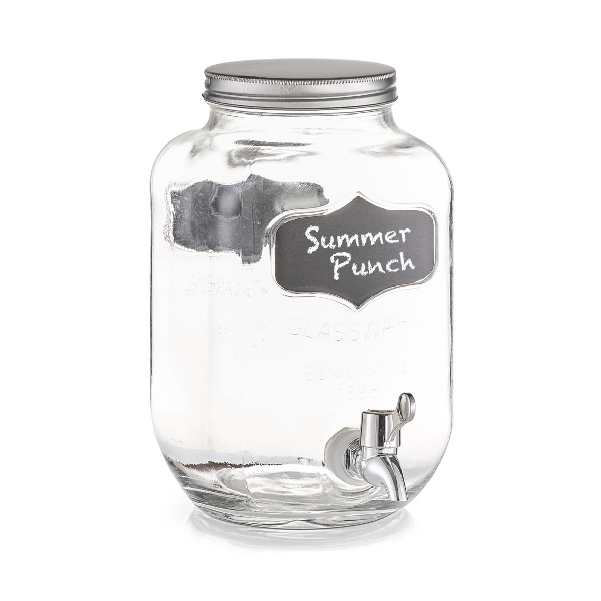 Dispenser pentru bauturi Summer Punch, 3,8 L, L15,5xl15,5xH25,5 cm