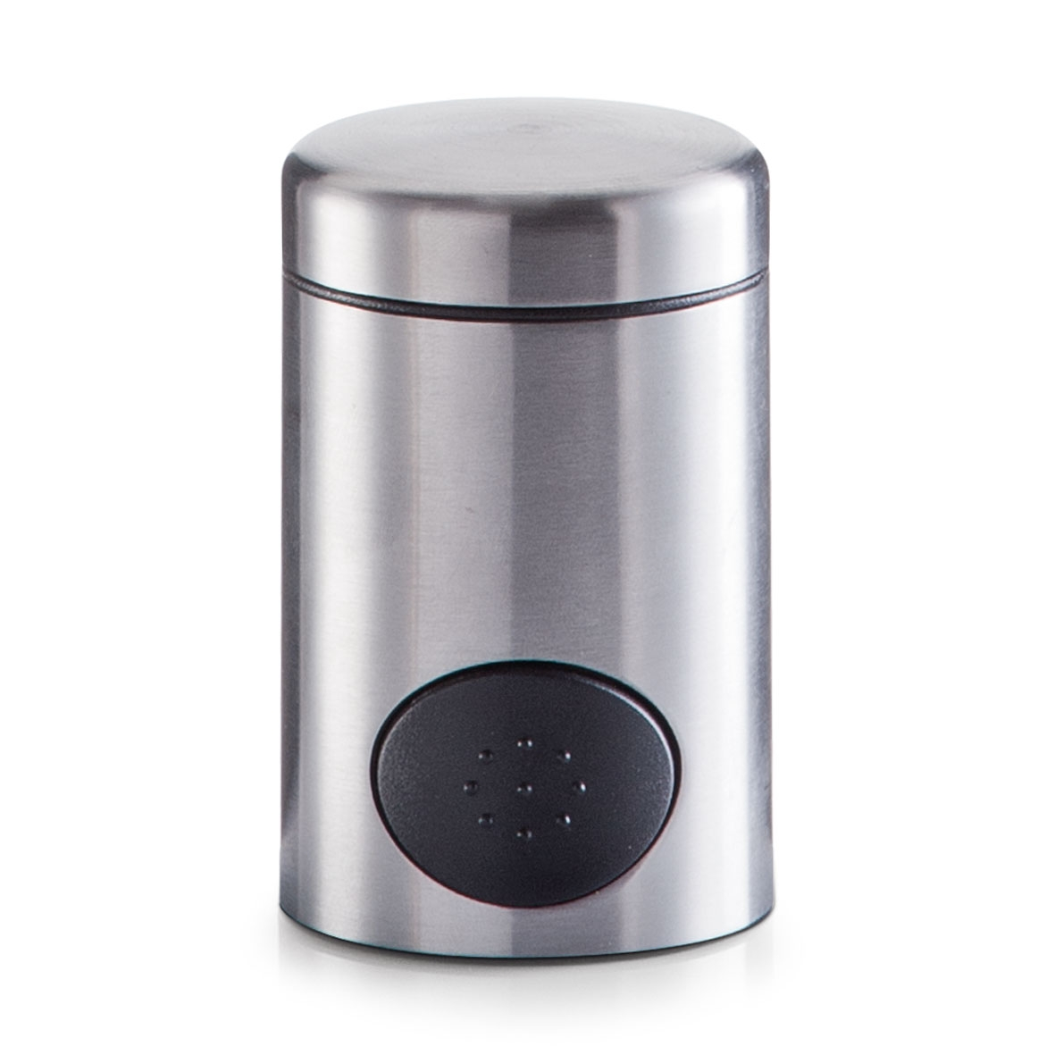 Dispenser pentru indulcitor Push, din inox, Ø 5xH8,5 cm