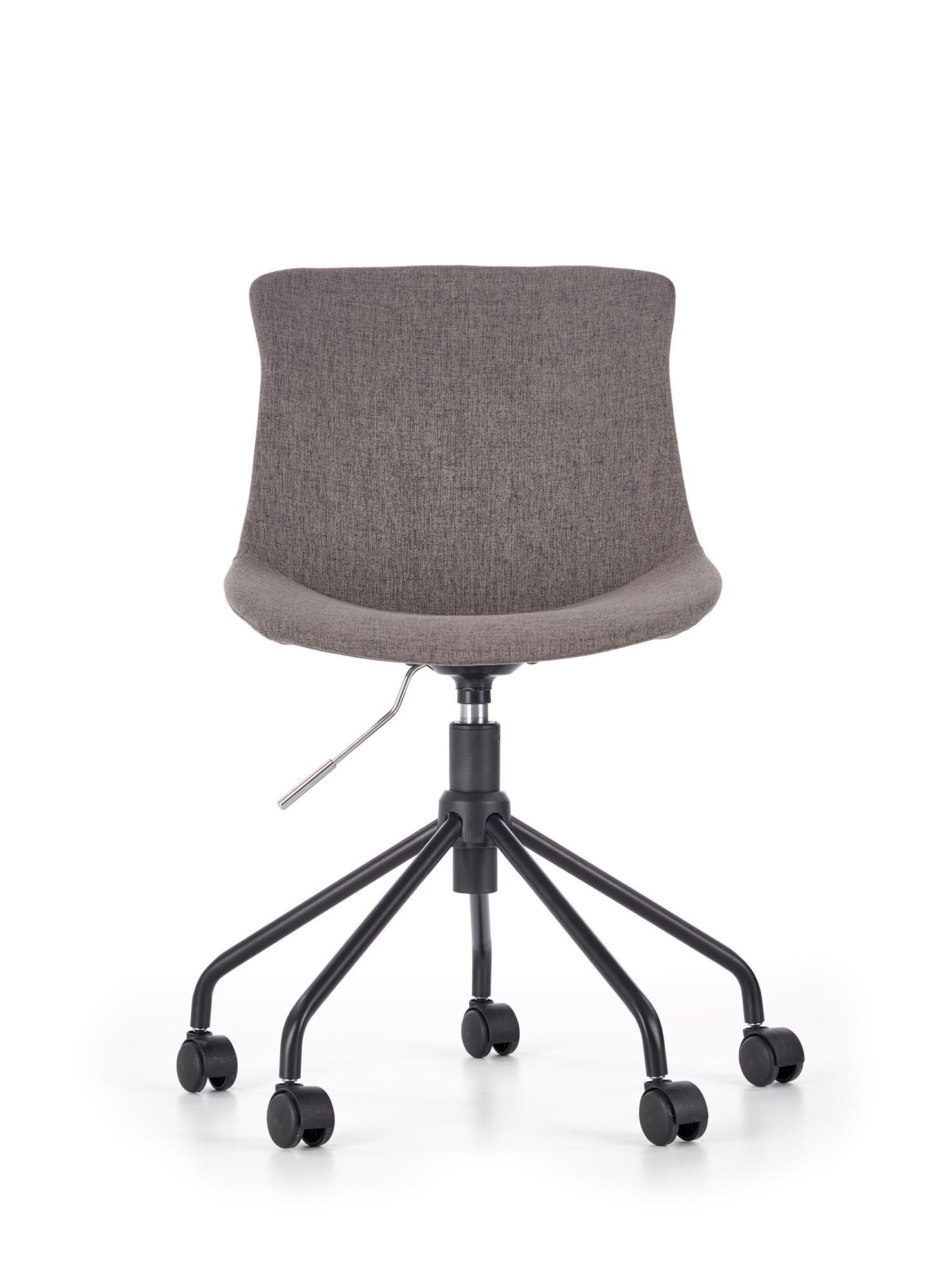 Scaun de birou pentru copii Doblo Grey, l48xA54xH86-92 cm poza
