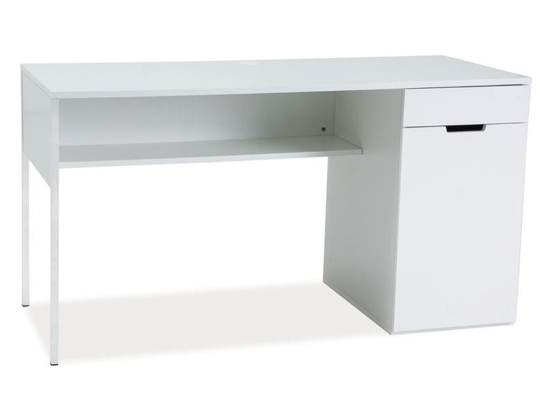 Masa de birou din MDF Domino B1, L140xl60xh74 cm