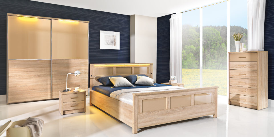 Set Mobila Dormitor Cremona poza