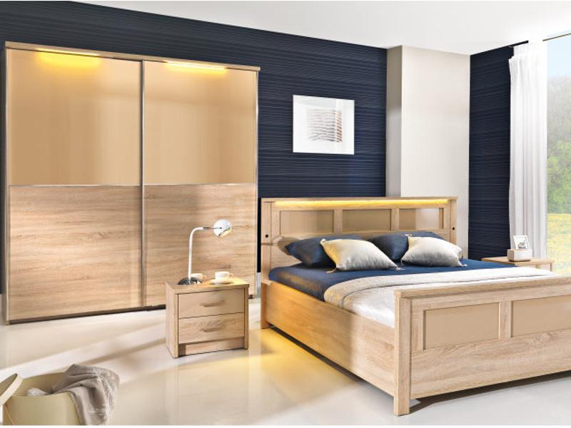 Set Mobila Dormitor Cremona Dormitoare Ilustratie