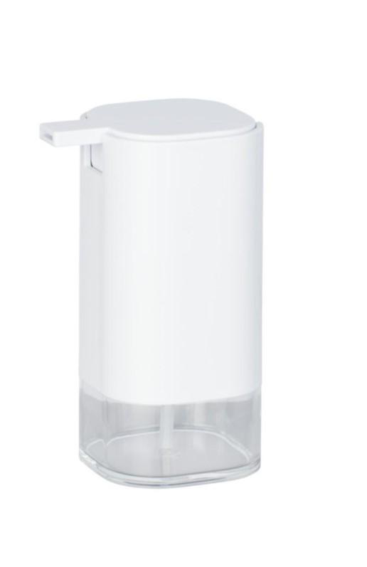 Dozator pentru sapun, din acril, Oria Alb, L7,5xl9,5xH16 cm imagine