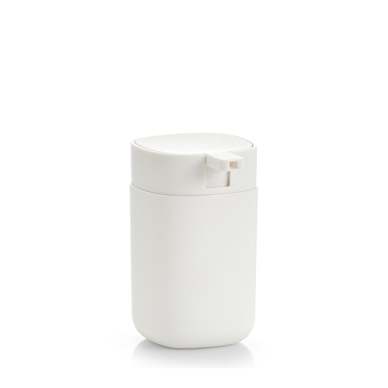 Dozator pentru sapun din plastic, Wellness Alb, Ø7,3xH12,1 cm imagine