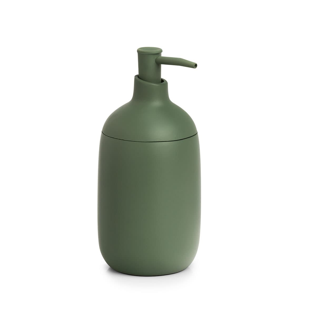 Dozator pentru sapun din polirasina, Sage Verde Inchis, Ø7,2xH16 cm somproduct.ro