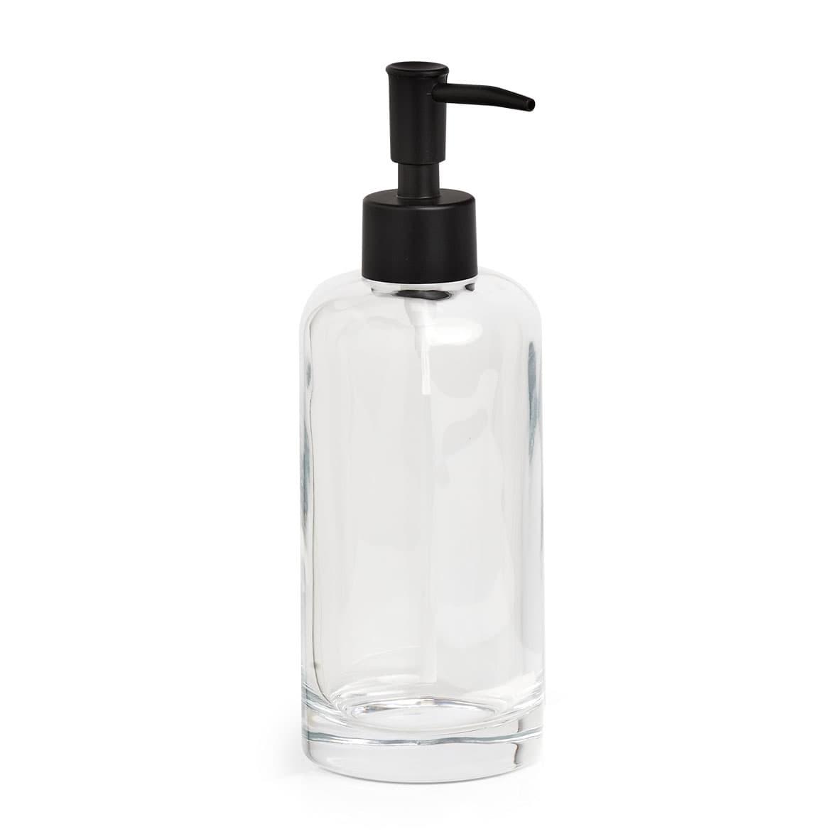 Dozator pentru sapun din sticla, Clear Transparent, Ø6,9xH20,2 cm imagine