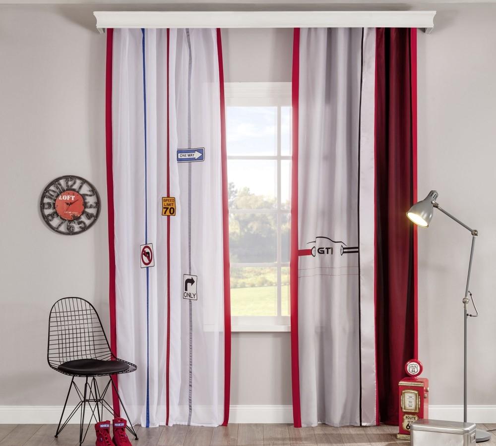 Set perdea si draperie pentru copii Biclass Multicolour somproduct.ro