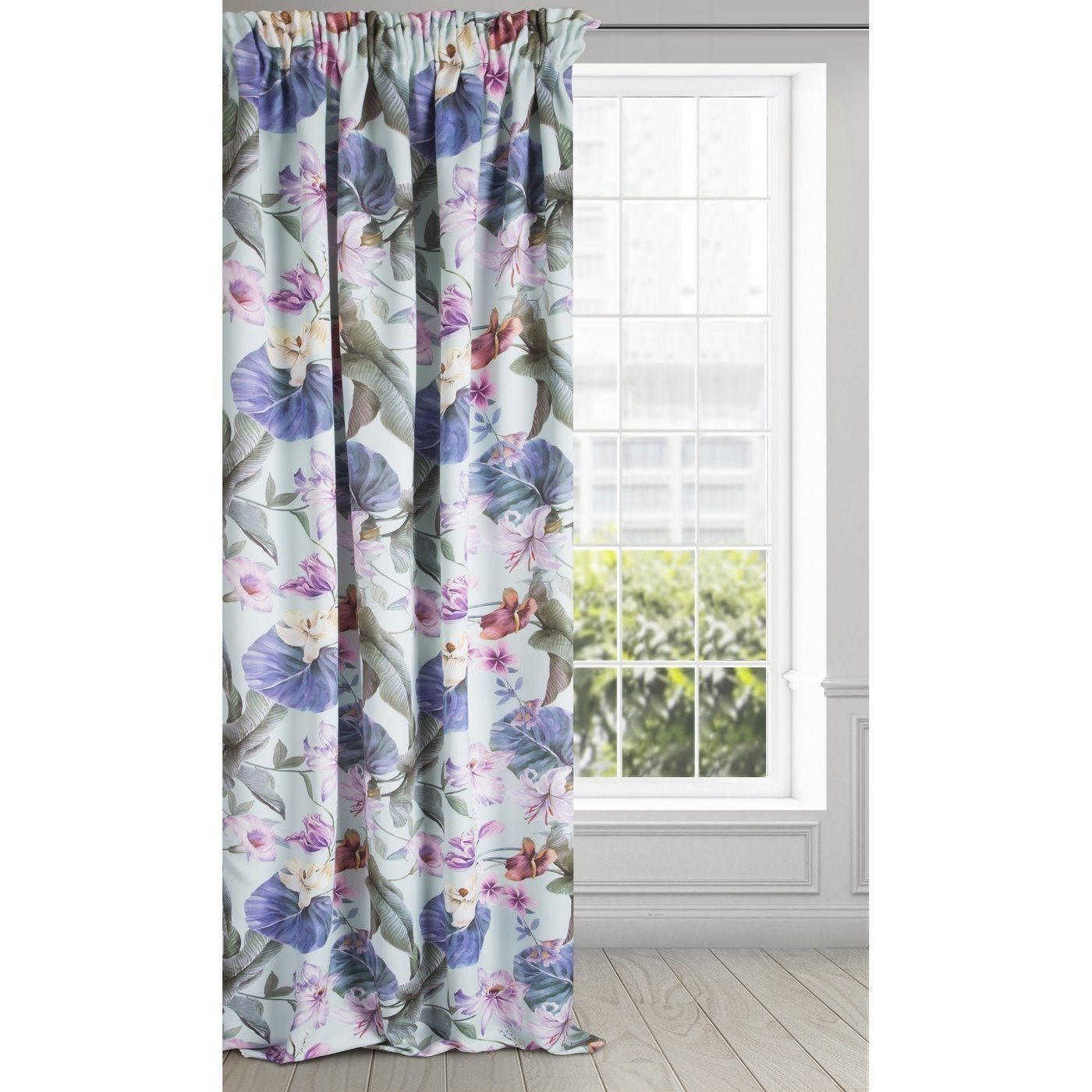 Draperie Blackout Alia Multicolor / Violet, 140 x 270 cm, 1 bucata imagine