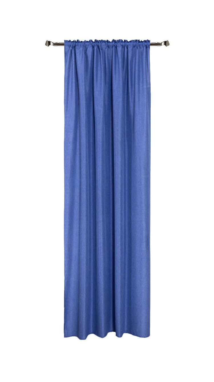 Draperie Home RM-KS748-44, Blue 140 x 270 cm, 1 bucata