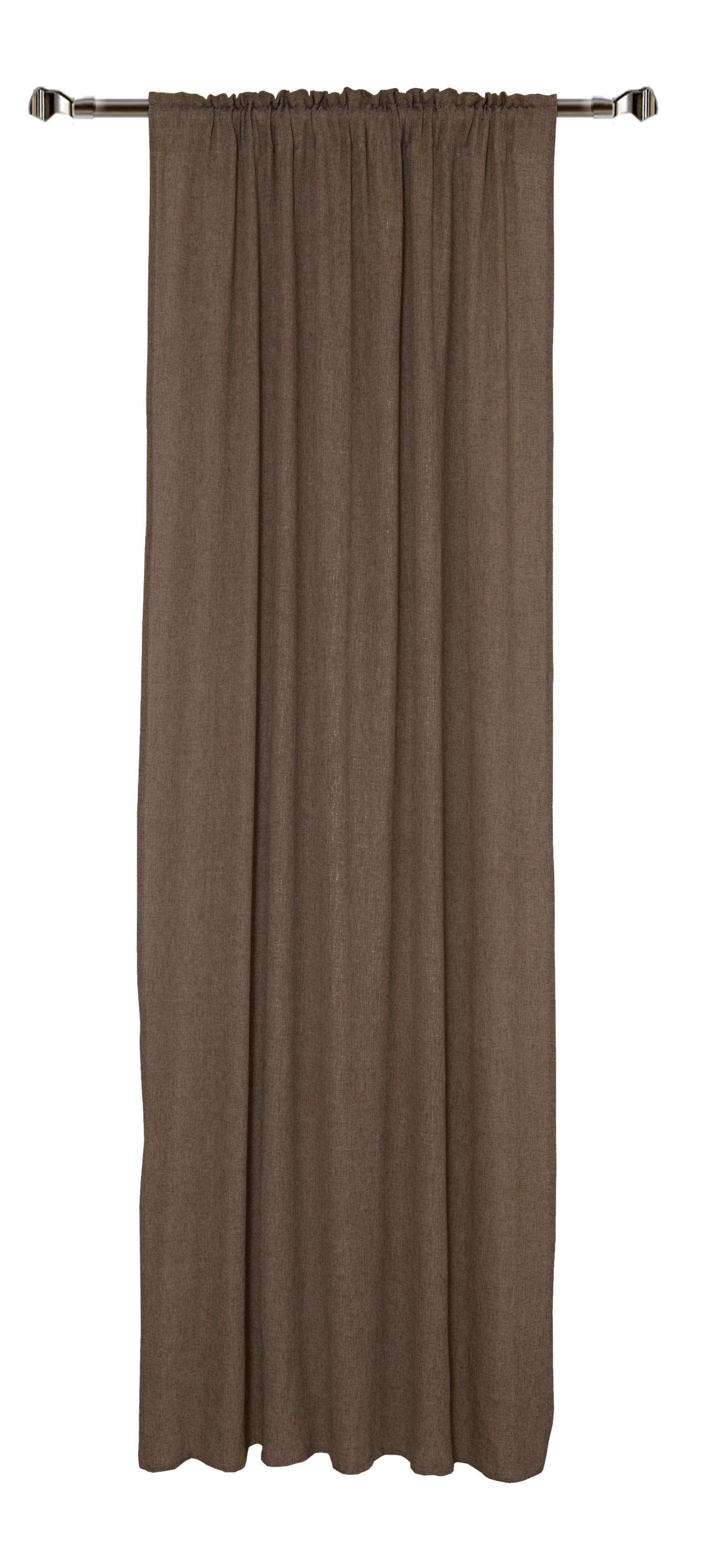 Draperie Home RM-KS760-04 Brown 140 x 270 cm 1 bucata