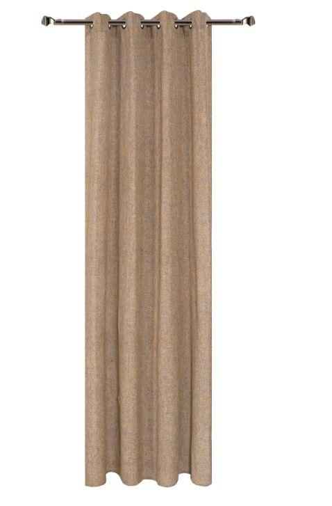 Draperie Home RM-KS760-14, Beige 140 x 270 cm, 1 bucata