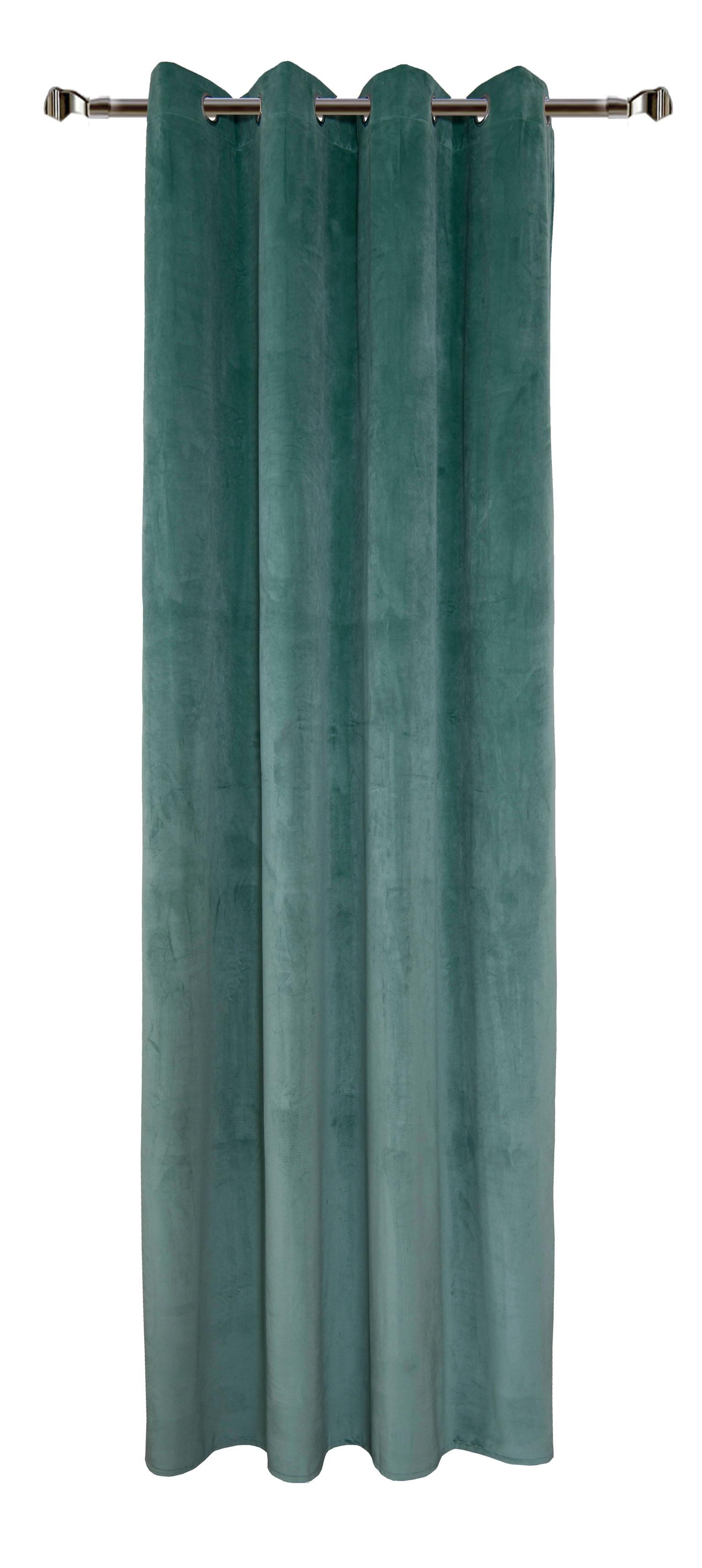 Draperie Home RM-MJ11-65, Petrol Green 140 x 270 cm, 1 bucata